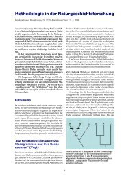 Methodologie in der Naturgeschichtsforschung - Wort und Wissen