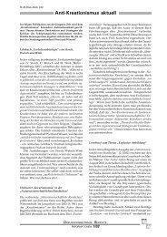 Anti-Kreationismus aktuell - Wort und Wissen