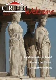 CirilloWebzine3.pdf - Liceo Ginnasio Statale Domenico Cirillo