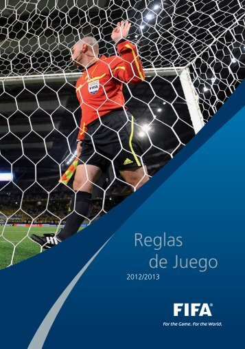 Reglas de Juego 2012/2013 - FPF