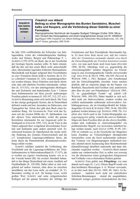 Friedrich von Alberti - Studium Integrale Journal