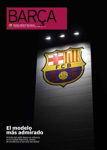 El modelo más admirado - FC Barcelona