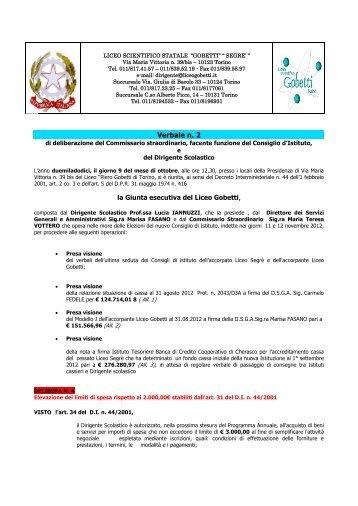 Iscrizioni alle classi prime - Liceo Scientifico Piero Gobetti