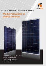 Moduli fotovoltaici di qualità premium - Natural Clima Srl