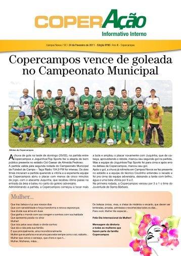 Copercampos vence de goleada no Campeonato Municipal