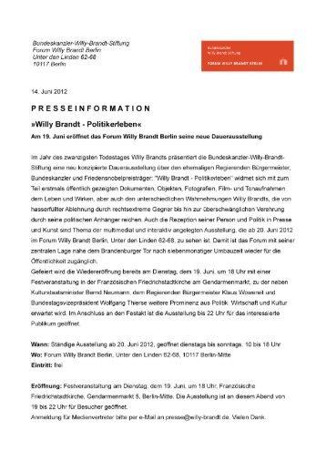 Untitled - Bundeskanzler Willy Brandt Stiftung