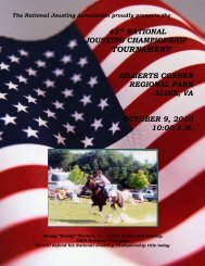 2005 national jousting championships - National Jousting Association