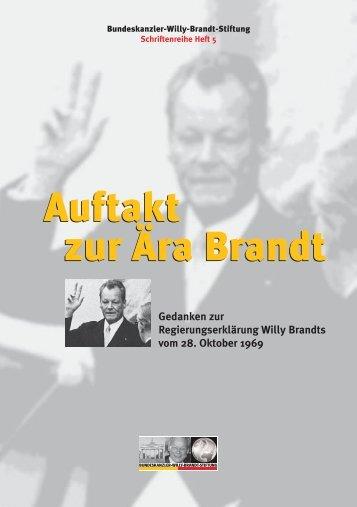 Heft 5 - Bundeskanzler Willy Brandt Stiftung