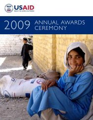 ANNUAL AWARDS CEREMONY - usaid / ofda