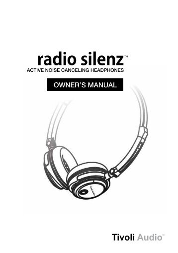 radio silenz™ - Tivoli Audio