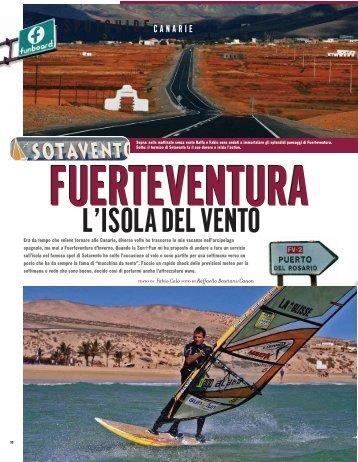 L'ISOLA DEL VENTO - vacanze viaggi windsurf
