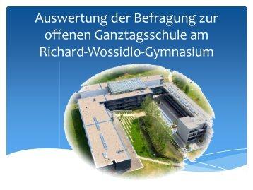 AuswertungGT.pdf - Richard-Wossidlo-Gymnasium Ribnitz-Damgarten