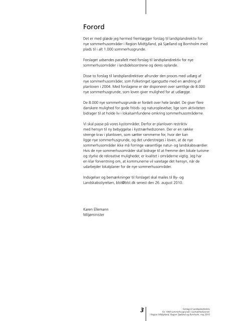Forslag til landsplandirektiv for 1000 ... - Naturstyrelsen