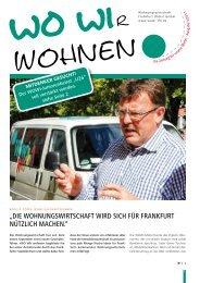 Ausgabe 03-2011 - Wohnungswirtschaft Frankfurt