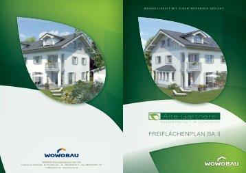FREIFLÄCHENPLAN BA II - Wowobau.de