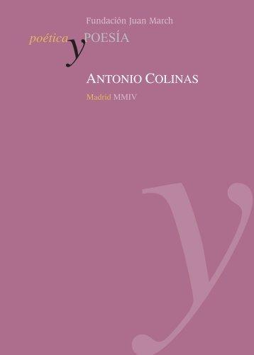 Montaje libro poesia - Fundación Juan March