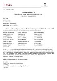 OdG n. 14 Controlli canne fumarie Viale Manzoni - Comune di Roma