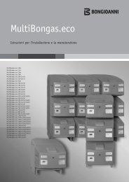 Libretto MultiBongas.eco - Bongioanni Caldaie
