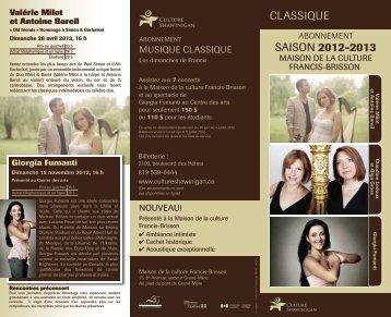 CLASSIQUE 2012