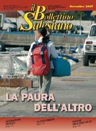BS novembre 2007 - il bollettino salesiano - Don Bosco nel Mondo