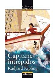 Capitanes intrépidos (primeras páginas) - Anaya Infantil y Juvenil