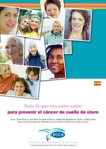 Todo lo que necesita saber para prevenir el cáncer de ... - aepcc