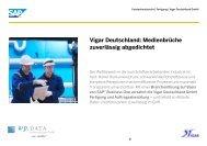 Vigar Deutschland GmbH - wp.DATA Kommunikations GmbH