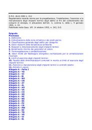DPR 26-8-1993 n. 412 - Agenzia provinciale per l'energia