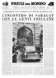 Friuli nel Mondo n. 156 novembre 1966 - Ente Friuli nel Mondo