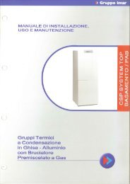 csp system top pab - Gruppo Imar S.p.A.