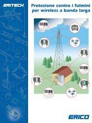 Protezione contro i fulmini per wireless a banda larga - Erico