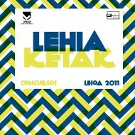 Catálogo - Kultur Leioa