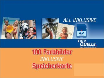 Speicherkarte für 100 Gratisbilder (PDF) - partners | concept