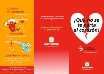 Folleto de la campaña (pdf) - Sanifarma