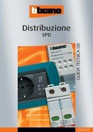 Distribuzione SPD_guida tecnica - Professionisti BTicino