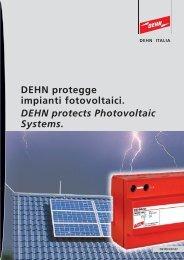 DEHN protegge impianti fotovoltaici. DEHN protects ... - Rexel