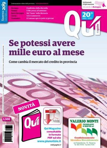Se potessi avere mille euro al mese - Più Notizie