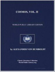 COSMOS, VOL. II - World eBook Library