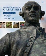 GREATNESS - Wilkes University