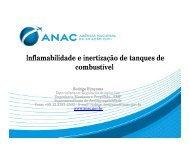 Inflamabilidade e inertização de tanques de combustível - Anac
