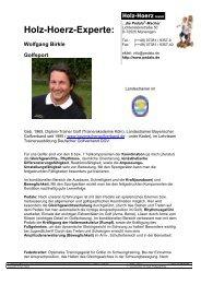 Wolfgang Birkle Golfsport - Pedalo