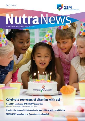 NutraNews - DSM Nutritional Products newsletter 1/2012