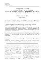 Contributo del Not. Pappa Monteforte - Fondazione Italiana del ...