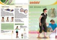 der gesunde Fuß - Pedalo