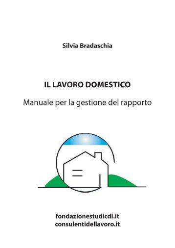 Il lavoro domestico. Manuale per la gestione del rapporto - Ordine ...