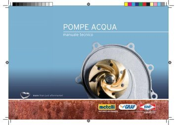 Manuale Tecnico Pompe Acqua - GRAF