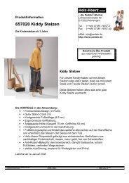 657020 Kiddy Stelzen - Pedalo