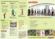 Koordinations- parcours - Pedalo
