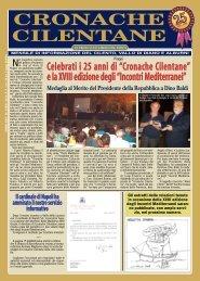 Settembre 2008 - Cronache Cilentane