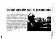 """""""Quegli appalti cari al Presidente"""", di Antonangelo Liori - Consiglio ..."""